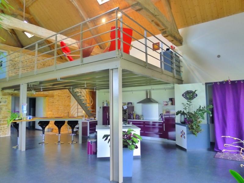 Bien connu Ancienne grange entièrement rénovée esprit loft LM58